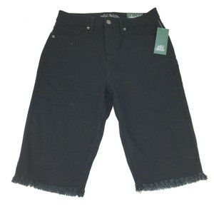NWT Wild Fable Shorts 4 High Rise Bermuda Black